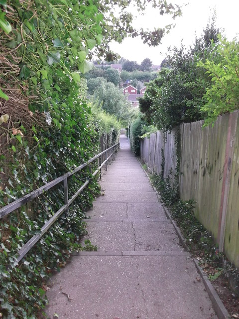 Stairs to Ferndown Close