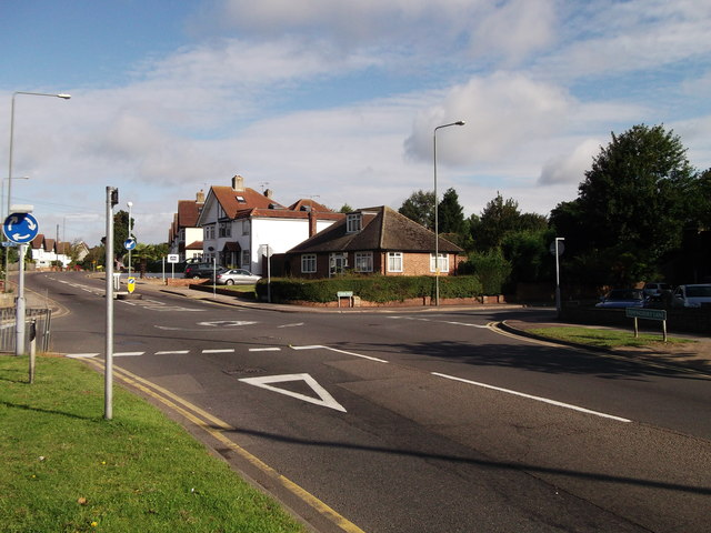 Roundabout on Queensway