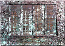 TQ7569 : The Destroyer Memorial, Chatham Historic Dockyard, Kent by Christine Matthews