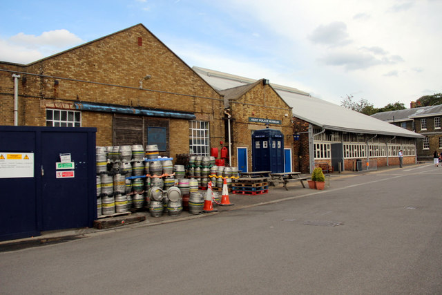 Kent Police Museum and other Buildings, Chatham Historic Dockyard, Kent