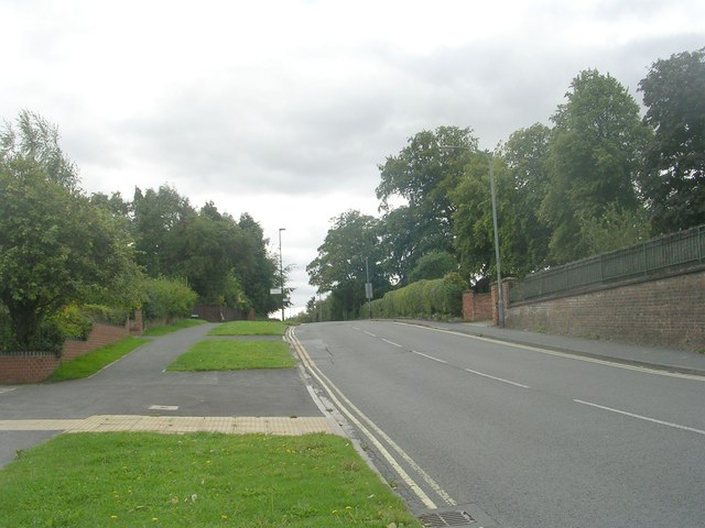 Green Dykes Lane - viewed from Thief Lane
