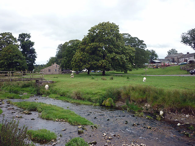 Maulds Meaburn and the Lyvennet Beck