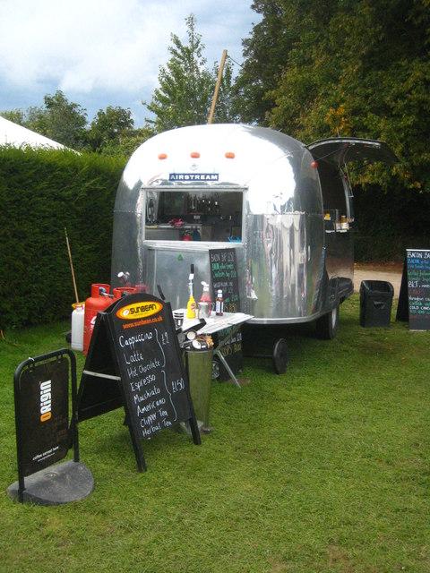 Catering van at Trereife Craft Fair