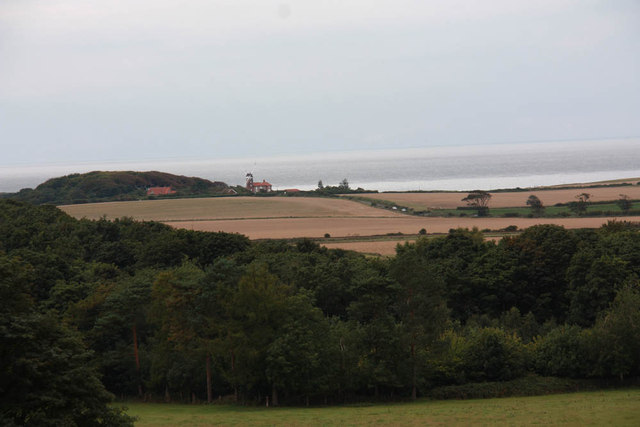 View to sea from Sheringham Park