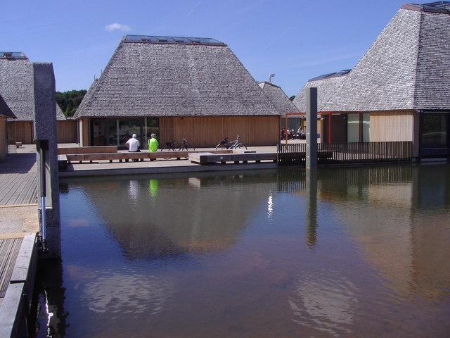 Brockholes Nature Reserve Floating Village