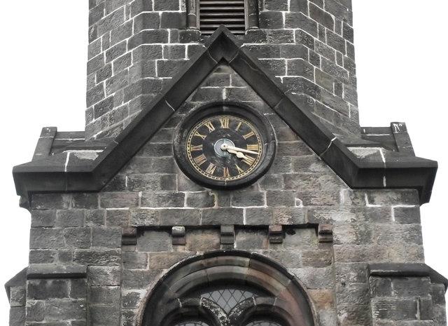 St John's Church, Buglawton- Southern clockface