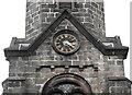 SJ8663 : St John's Church, Buglawton- Southern clockface by Jonathan Kington
