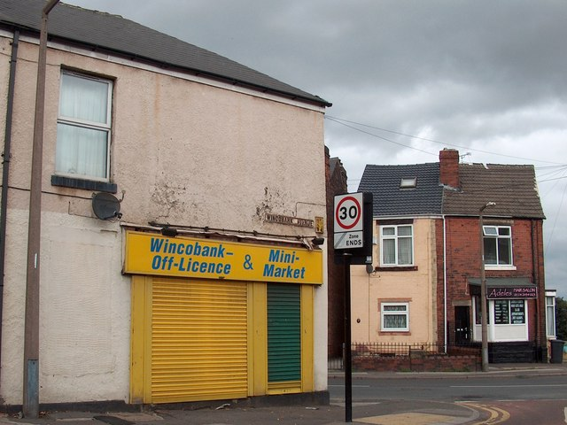 Junction of Wincobank Avenue and Shiregreen Lane, Wincobank