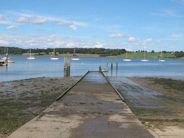 Royal Harwich Yacht Club Slipway