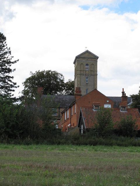 School Tower, Woolverstone Hall