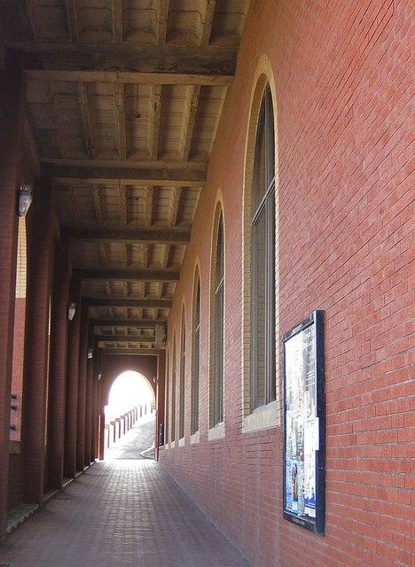 Passageway under the Pavilion Complex, Whitby