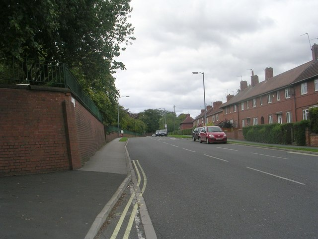 Thief Lane - viewed from Green Dykes Lane