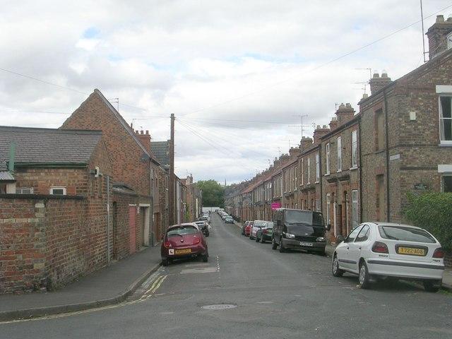 Wellington Street - off Heslington Road