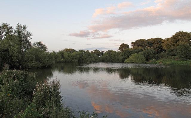 Reservoir near Shotley Common