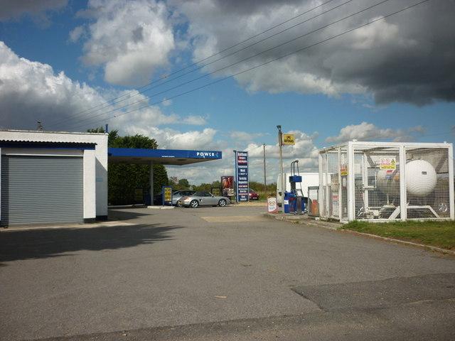 Haltham Garage, Haltham, Lincolnshire