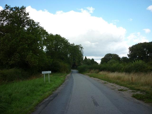 Entering Roughton, Lincolnshire