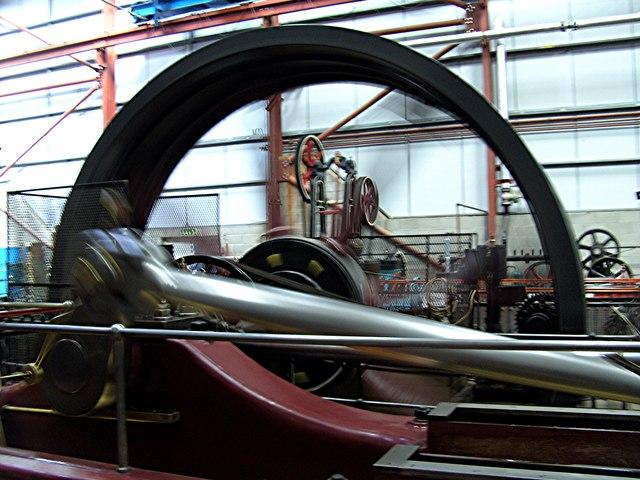 Markham Grange Steam engines