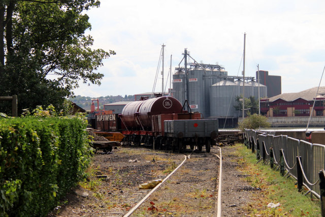 Railway, Chatham Historic Dockyard, Kent