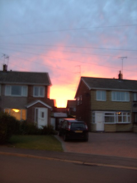 Red sky at night, shepherds' delight