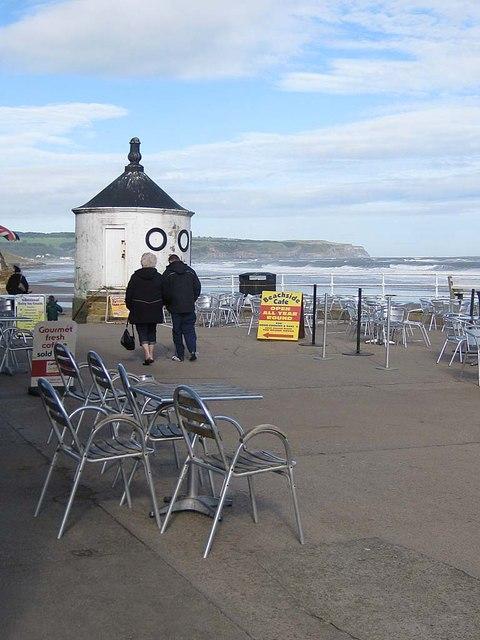 Beachside cafe, Whitby