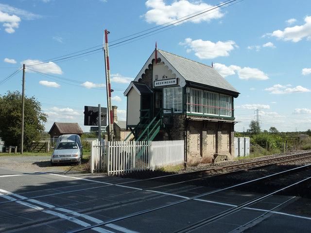 Beckingham signal box