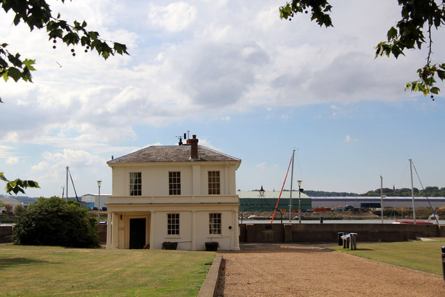 Assistant Queen's Harbour Master's House, Chatham Historic Dockyard, Kent