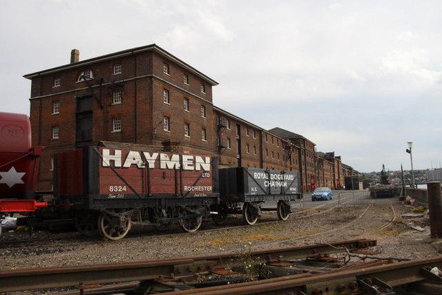Railway, Chatham Historic Dockyard, Kent