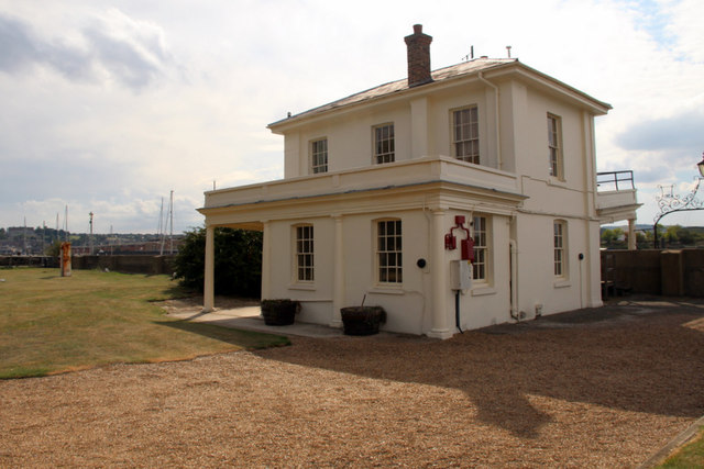 Assistant Queen Harbour Master's House, Chatham Historic Dockyard, Kent