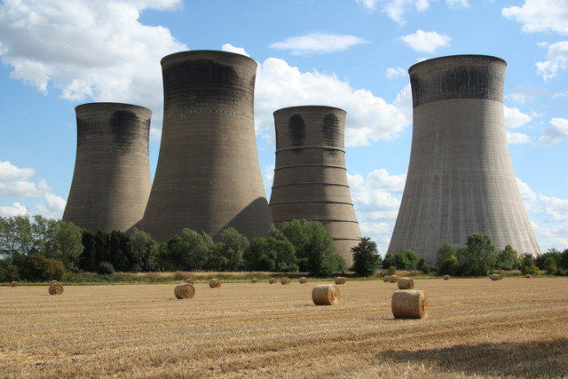 West Burton cooling towers