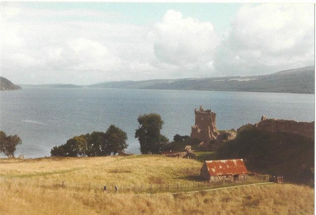Urquhart Castle in 1984