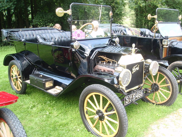 Model T Fords at Wray