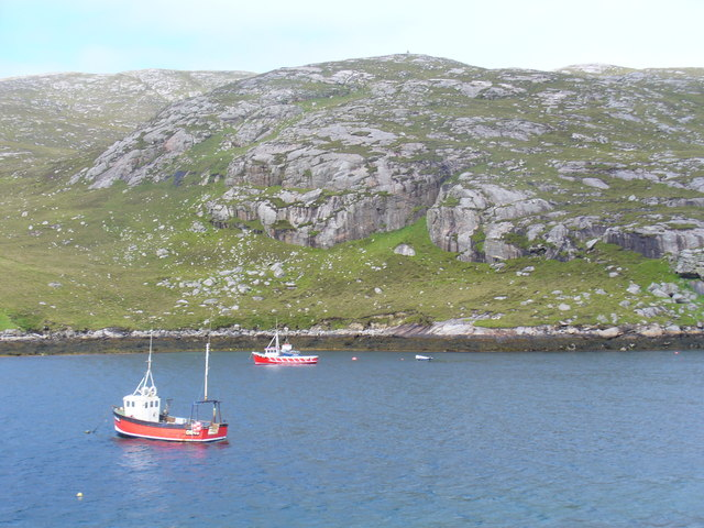 Fishing Boats in Caolas Bhatarsaigh