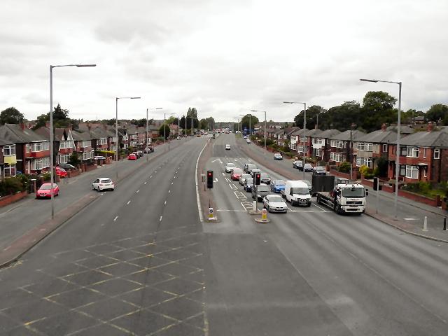 East Lancashire Road (A580), Swinton