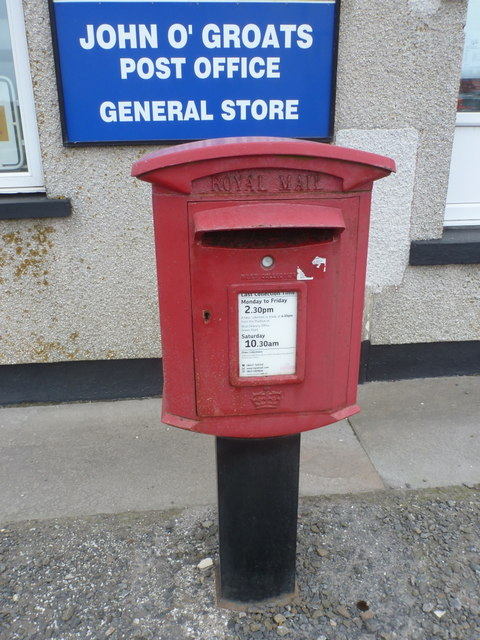 John o' Groats: postbox № KW1 23