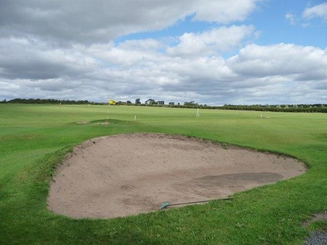 Bunker at Garforth Golf Club