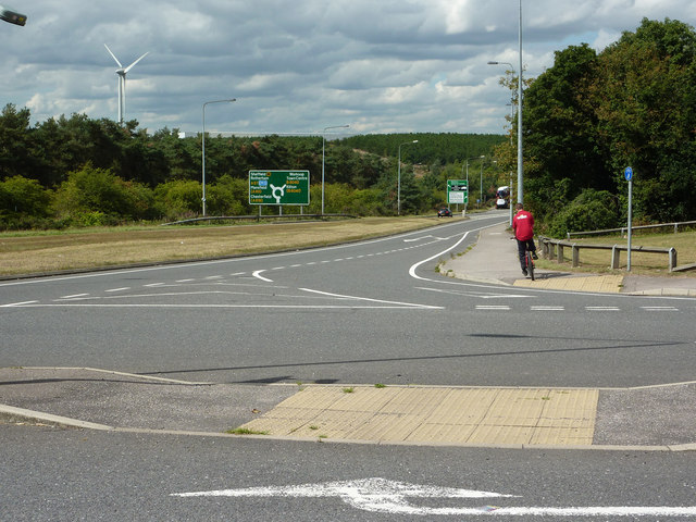 A57 cycleway