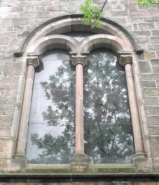 St John's Church, Buglawton- Northern window