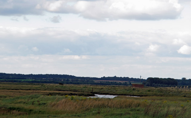 Looking to Bawdsey Marshes