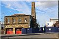 TQ7569 : Old Fire Station, Chatham Historic Dockyard, Kent by Christine Matthews