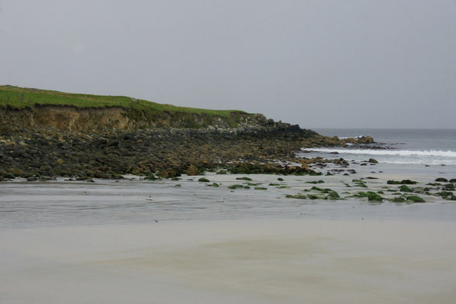 North end of the Easting beach