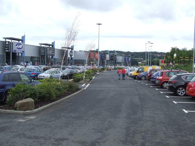 Metro Retail Park car park, near Gateshead