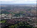 TQ1676 : Syon Park and Brentford from the air by Thomas Nugent