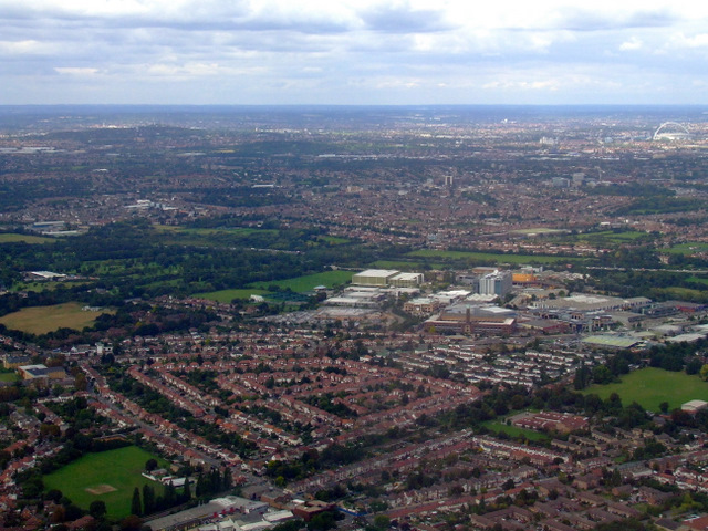 Isleworth from the air