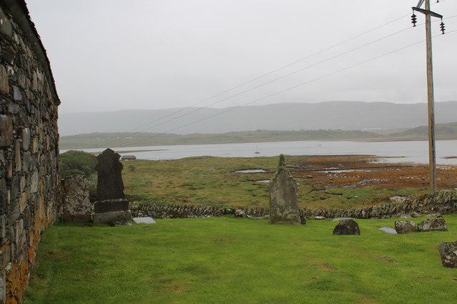The graveyard at Keills chapel