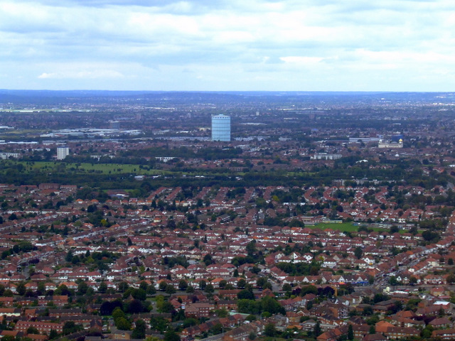 West Hounslow from the air
