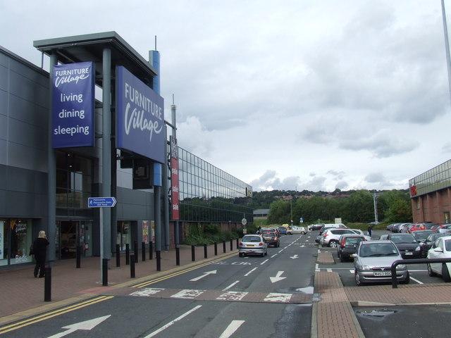 Metro Retail Park access road, near Gateshead