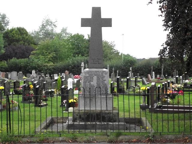 St John's Church, Buglawton- War Memorial