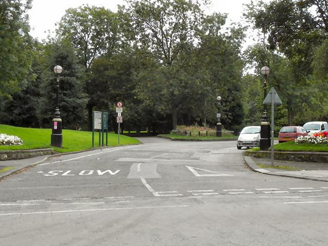 Buile Hill Park, Eccles Old Road Entrance