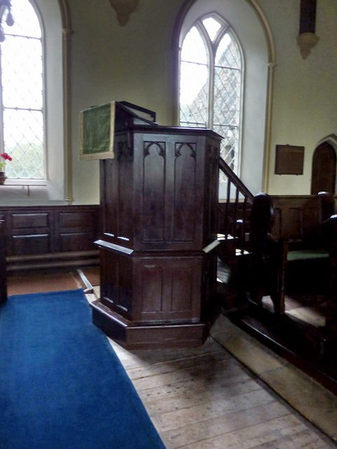 Church of St Mary the Virgin, Arkengarthdale, Pulpit