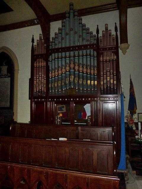 Church of St Mary the Virgin, Arkengarthdale, Organ